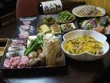季節食材をふんだんに使用したボリュームたっぷりの「柳川コース」!!