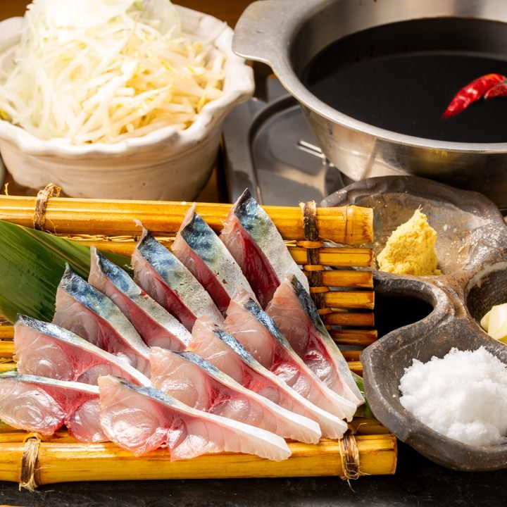 漁師料理を丸善らしくアレンジした「さばしゃぶ」もおすすめです