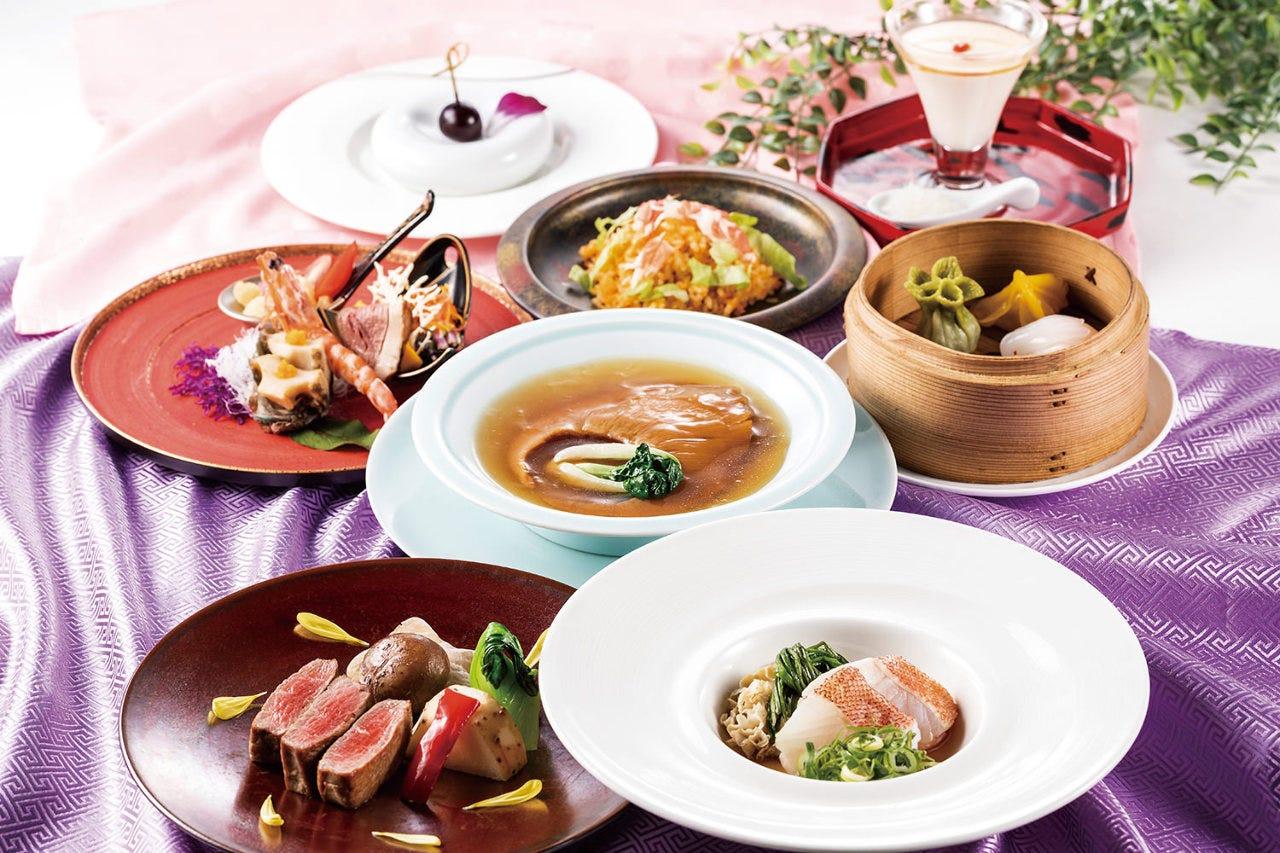 【贅の極み】中国料理の伝統と進化した技法の融合とで口福を感じる至高のコース 《DYNASTYコース》
