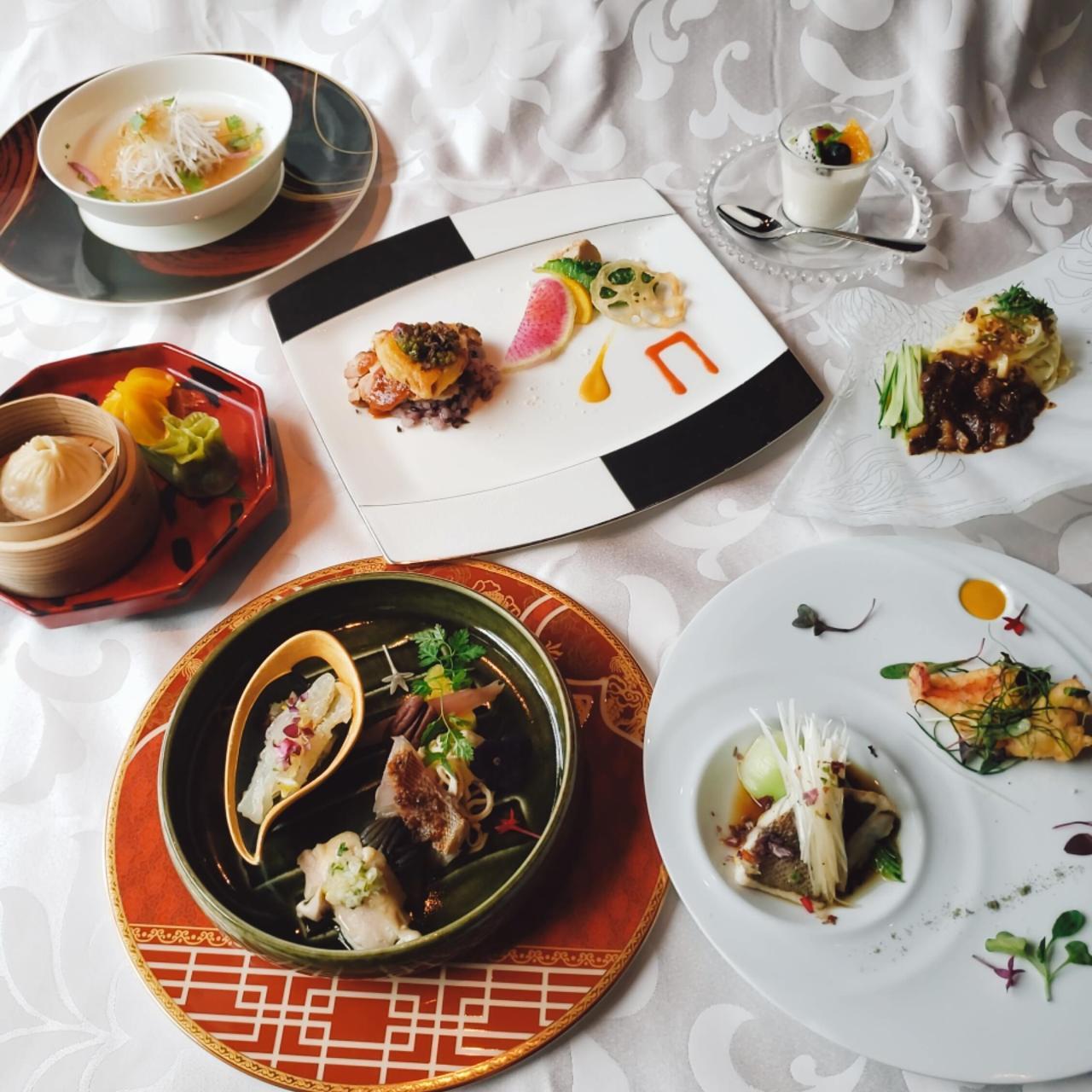 ◆当店料理長おすすめ―シェフセレクトコース―◆フカヒレ、海鮮料理、牛ほほ肉等個々盛全7品