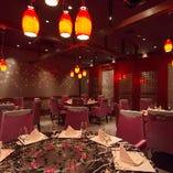 【最大36名 9名×4卓】中国料理といえば《円卓個室》