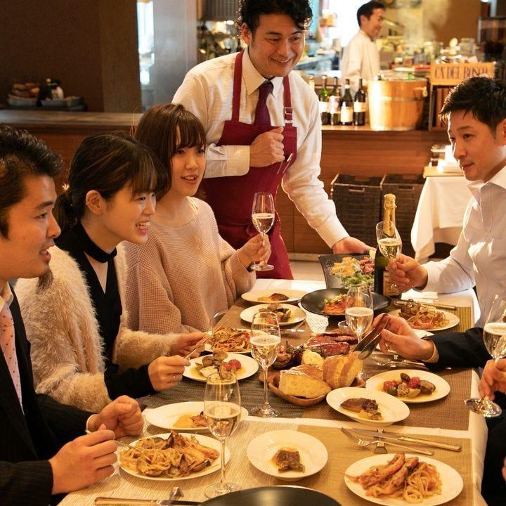 職場の宴会や飲み会、会食などのご利用に◎最適なプランをご用意