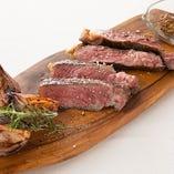 広島県産 垰下牛のステーキ