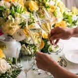 結婚式二次会~大勢のゲストを招いて華やかに~