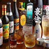 多彩な飲み放題メニュー