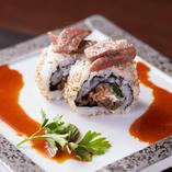 Koreanロール巻き寿司〜小さなユッケをのせて〜
