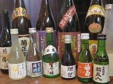 特に日本酒が好きです