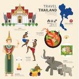 【お料理のみ】色んなタイ料理をお楽しめて、タイ旅行気分!9品・2名様~【リゾート個室可】