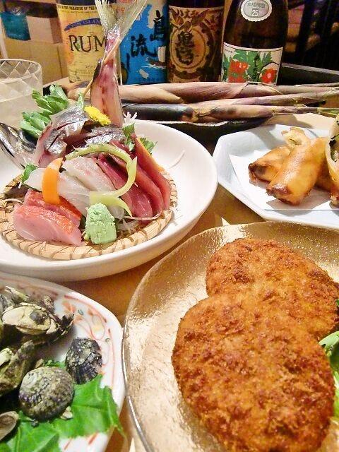島の海の幸・山の幸が満載のコース料理をご用意!