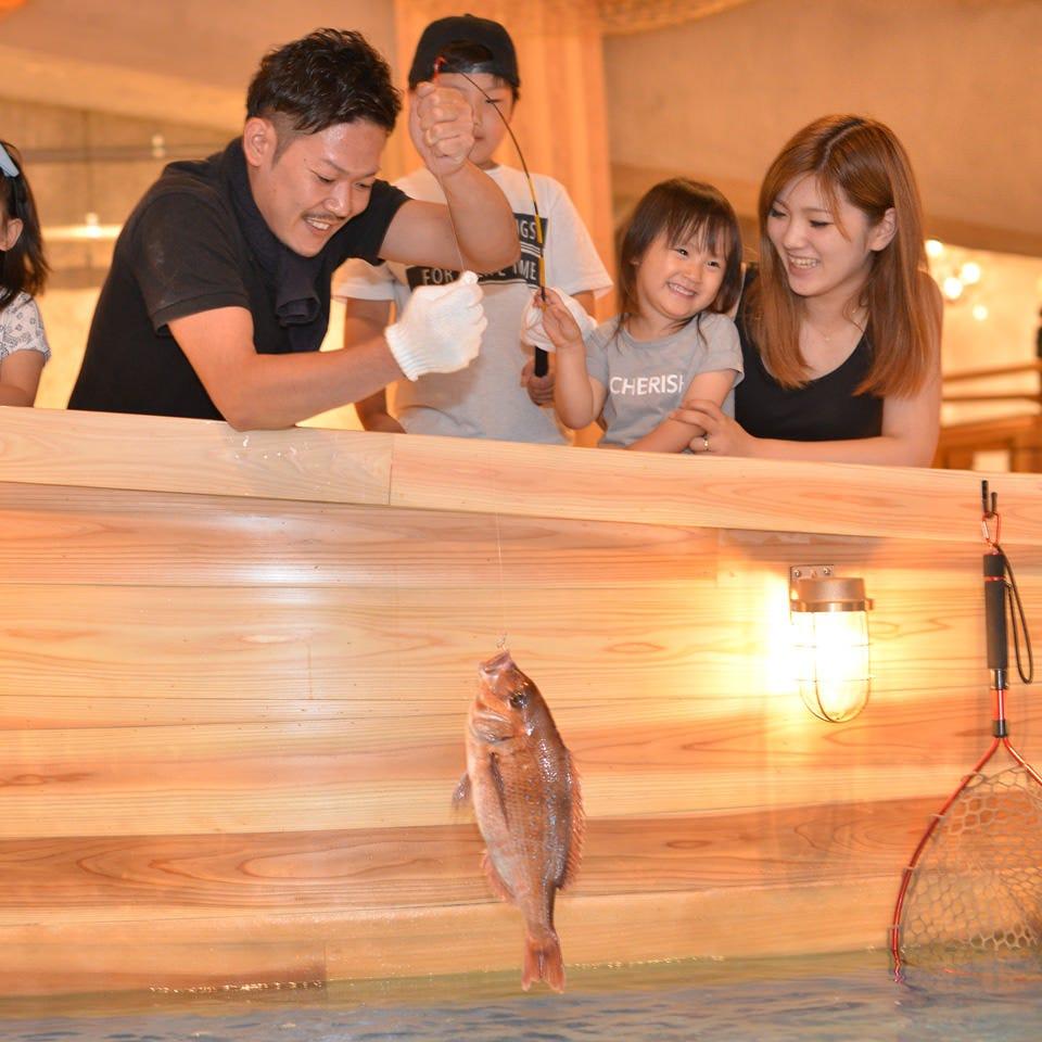 自分で釣った魚を食べられる居酒屋!
