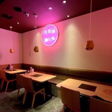 サムギョプサル 韓国料理 李朝園 京橋店 店内の画像