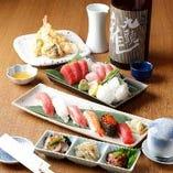 寿司コースプラン(飲み放題B)