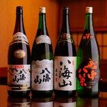 《日本酒》                                               人気の船中八策や八海山などもご用意