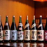"""《静岡地酒》                                              富士山の湧水から造られた""""富士錦""""をはじめ                        若竹鬼ころし・正雪・杉錦・英君 など取り揃えております"""