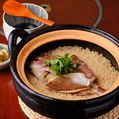 天然鯛めし土鍋炊き