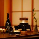 旨い酒とお料理でごゆっくりおくつろぎください。