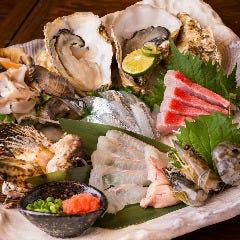 産直鮮魚のお造り