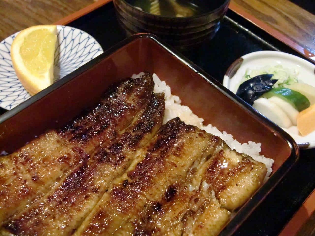 他では味わえない鰻料理が多数!