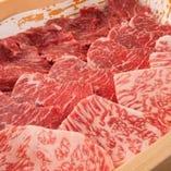 【特選和牛も!】 最高ランクA4・A5和牛も食べ放題!