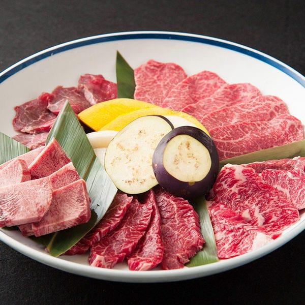 焼肉盛合せ3,980円~ 和牛焼肉をお手頃な価格で提供♪