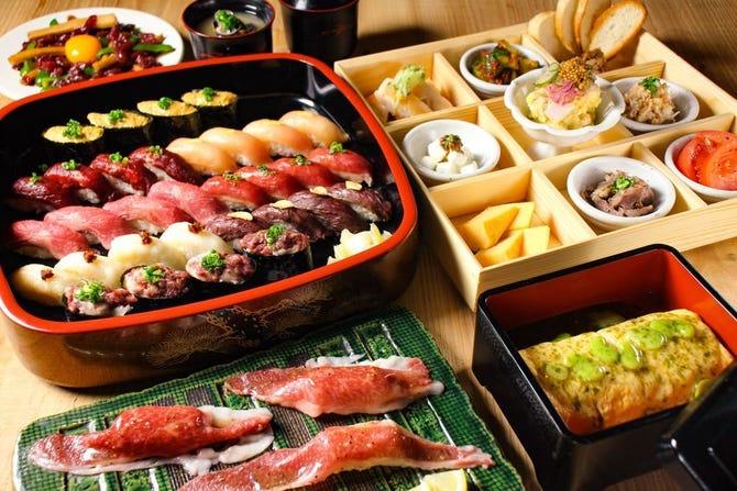 寿司 新宿 肉