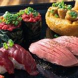 ★ 自慢の「肉寿司」★