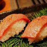 黒毛和牛極上炙り寿司【鹿児島県(主に九州産)】