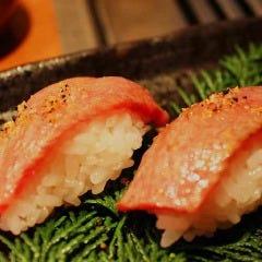 A5黒毛和牛極上炙り寿司