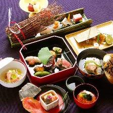 【春秋懐石】奥座敷の情緒ある空間で特別なおもてなしを。和牛サーロイン柳川鍋、牡蠣釜ご飯など