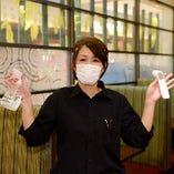 お客様へ、入店時には検温と手指消毒のご協力をお願いしております