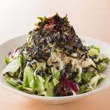 韓国海苔たっぷりのチョレギサラダ