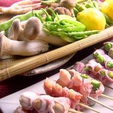 【豚巻き野菜串】