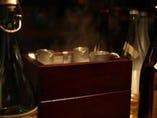日本酒は燗どうこでしっかり温めます♪