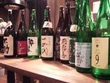 【自慢の日本酒】 他ではあまり見受けられない程の種類の多さ…