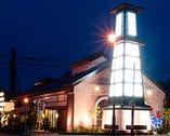 函館ベイ美食倶楽部は大きな 櫓型の看板が目印です。