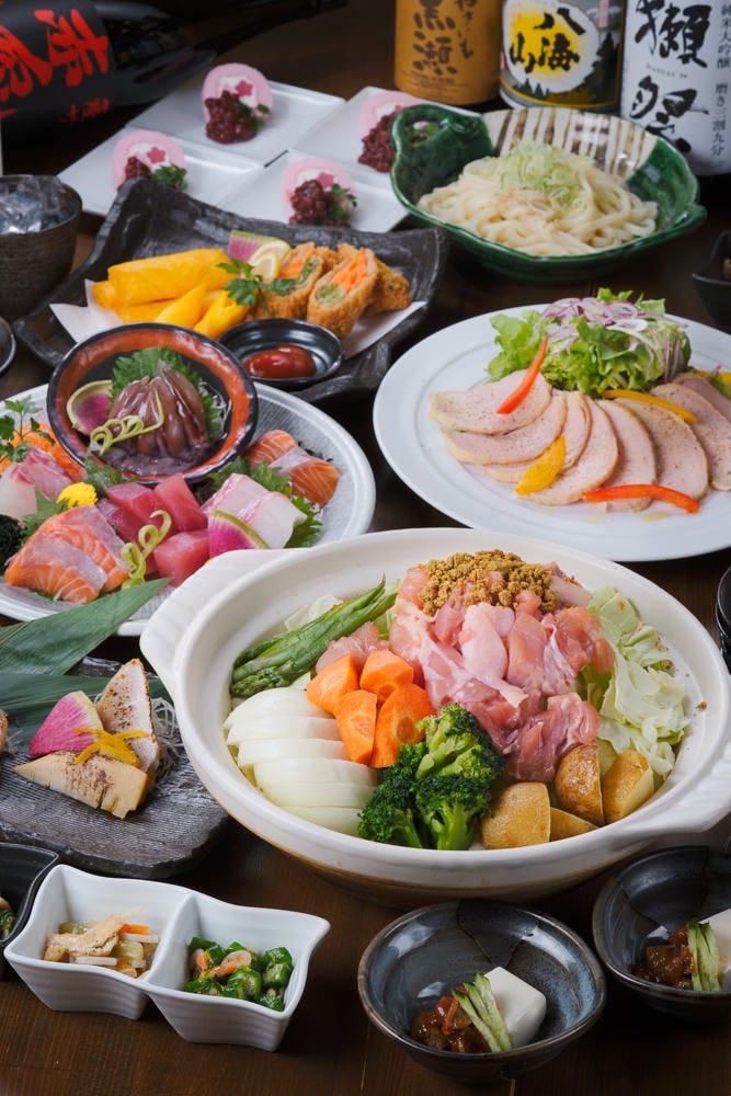 春の御宴会料理 全9品5000円(税込)