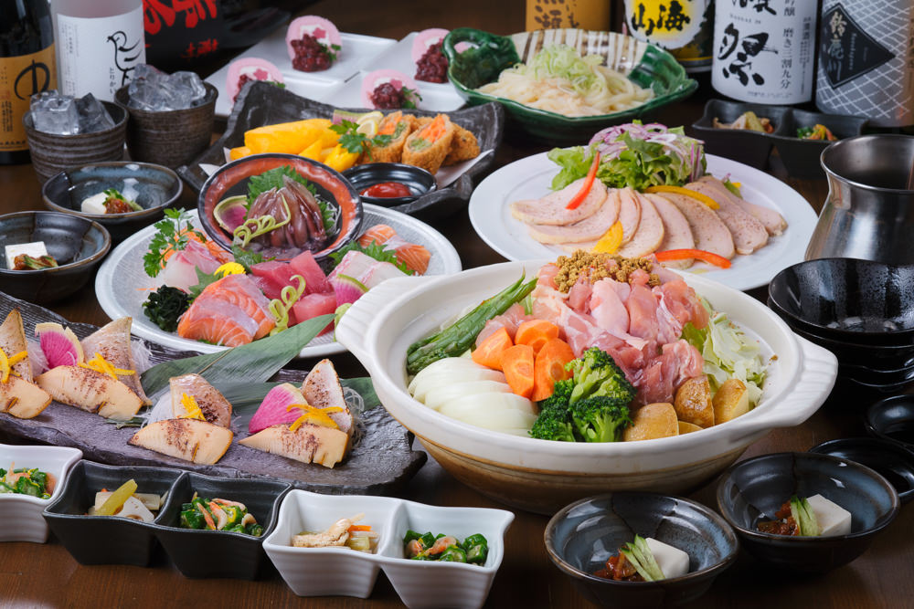 春の御宴会料理 全10品5500円(税込)
