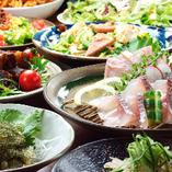 宴会にぴったりの沖縄料理満喫コースご用意!