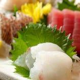 刺身と日本酒は相性抜群