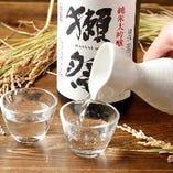 プレミアムな日本酒もございます
