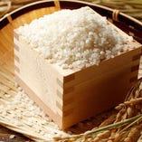 茨木県産コシヒカリ玄米・白米使用