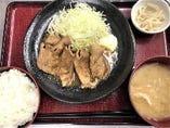 ランチ「生姜焼き」