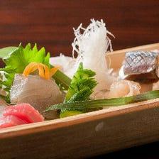 おすすめの鮮魚盛り3種・5種