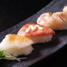 あぶり寿司三貫