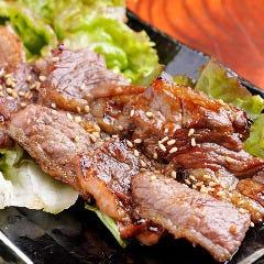 牛バラカルビ綱焼き