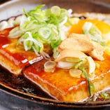 豆腐にんにくバターステーキ