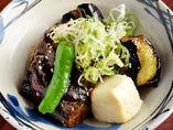 ナスと豆腐の肉みそ田楽