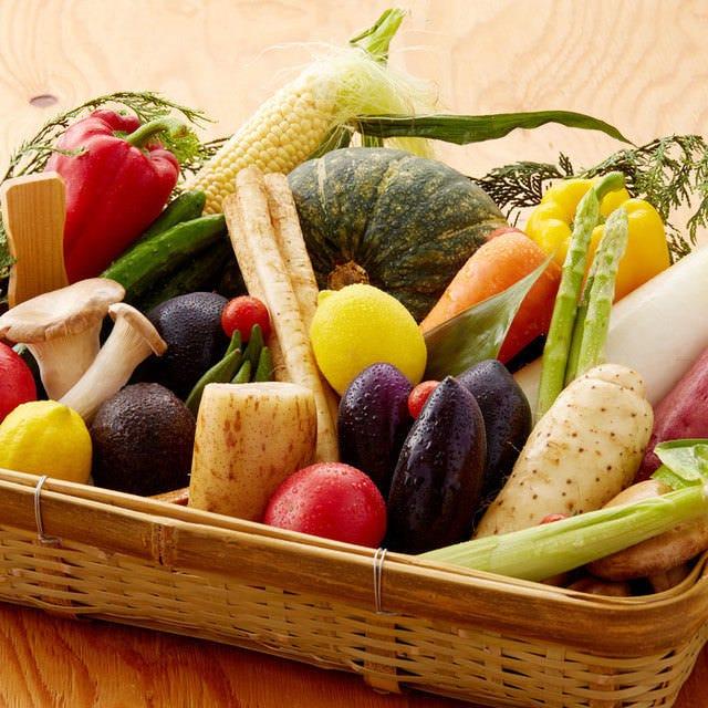 こだわりの新鮮野菜