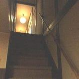 2階席では大人数でのご宴会が可能です。