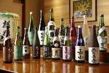 新潟約90蔵100銘柄以上の日本酒をご用意しております!